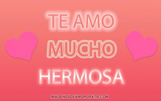 what does te quiero mucho mean